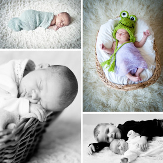 preview: newborn photo session Émilie (22 days)