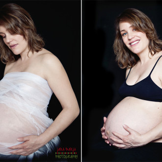 maternity photo session with Dorine