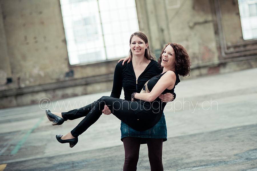 Freundinnen-Fotoshooting in Winterthur