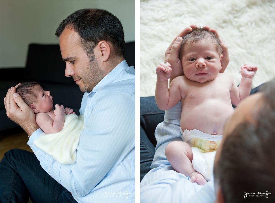 Babyfotos daheim